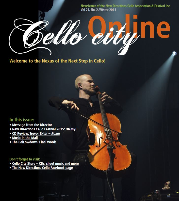 Cello City Online Winter 2014