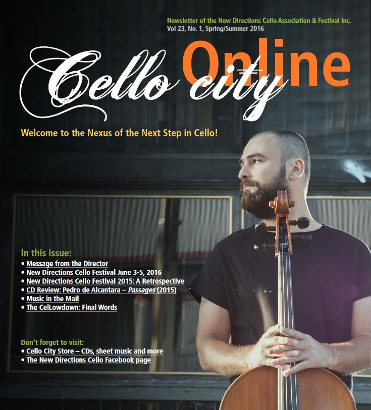 Cello City Online Spring 2016