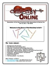Cello City Online.  Fall 2010