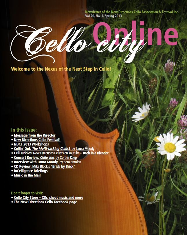 Cello City Online Spring 2013