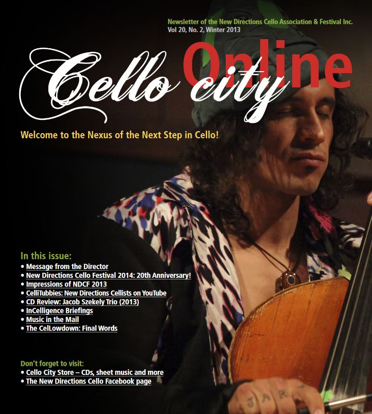 Cello City Online Winter 2013