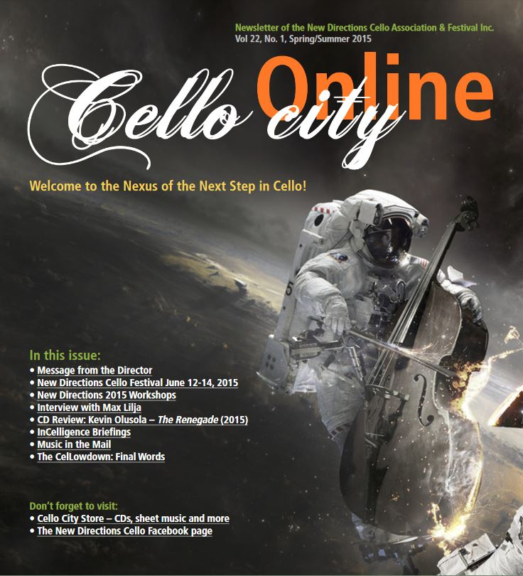 Cello City Online Spring 2015
