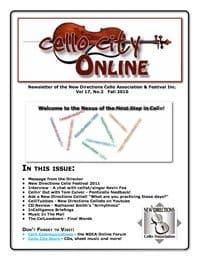 Cello City Online.  Fall 2010