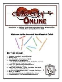 Cello City Online.  Spring/Summer 2010