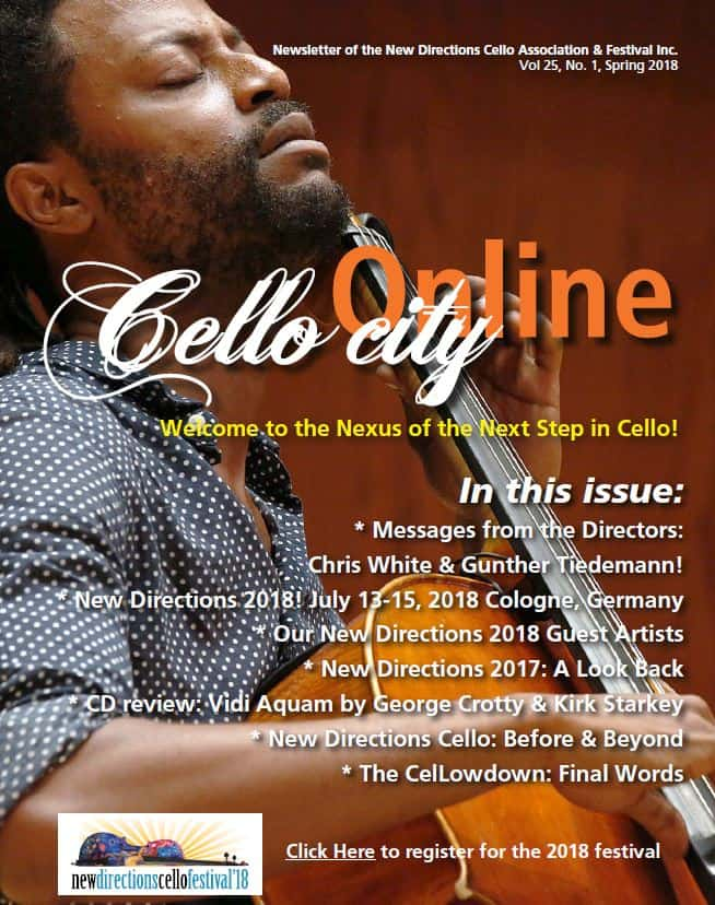 Cello City Online Spring 2018
