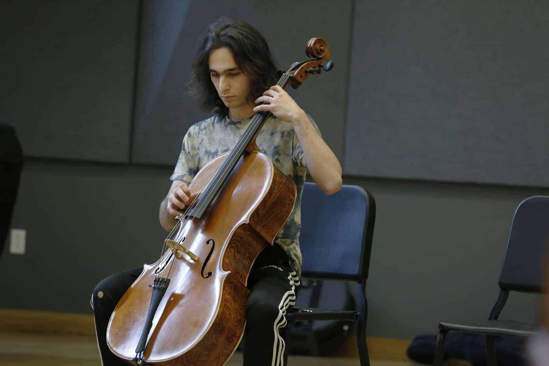 Cody & cello