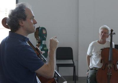 Gunther Tiedemann and Chris White