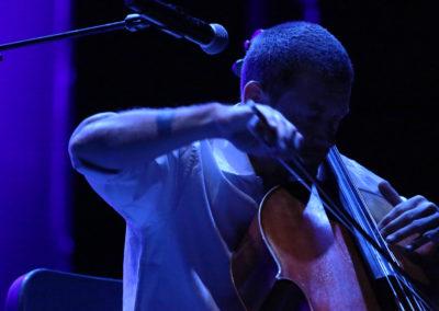 Matthieu Saglio performance - purple
