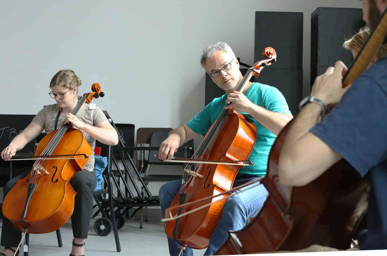Stijn Kuppens workshop with Liz Davis Maxfield