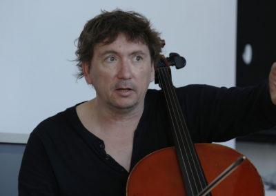 Vincent Courtois workshop