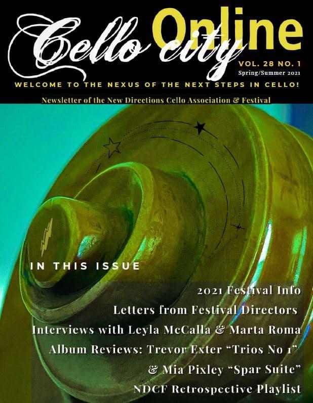 Cello City Online Newsletter 2021
